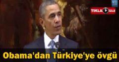 Obama Türkiye'ye Övgüler Yağdırdı!