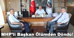 MHP'li Başkan Kaza Yaptı!
