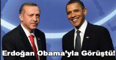 Erdoğan, Obama'yla görüştü
