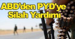 ABD, PYD'ye Silah Verdi