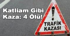 Bitlis'te Feci Kaza!