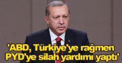 'ABD, Türkiye'ye rağmen PYD'ye silah yardımı yaptı'