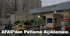 İbni Sina Hastanesinde Patlama