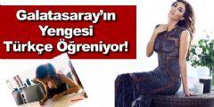 Sneijder'in Eşi Yolanthe Cabau, Türkçe Öğreniyor