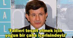 Başbakan Davutoğlu Şehitlerle İlgili Açıklama Yaptı