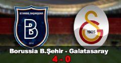 İstanbul Başakşehir-Galatasaray Maç Sonucu: 4-0