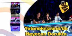 Yetenek Sizsiniz Türkiye'de Heyecan Dorukta