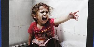 Gazze'deki Katliamı Böyle Canlandırdılar