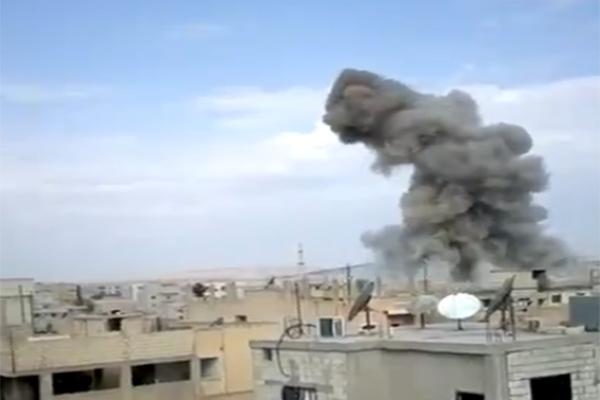 IŞİD Militanı Kardeşinin Patlamasını Görüntüledi