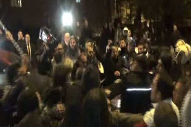Ankara'da İsrail Protesto Edildi!
