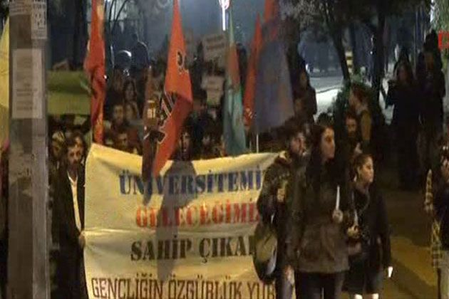 Ankara'da YÖK Protesto Edildi!