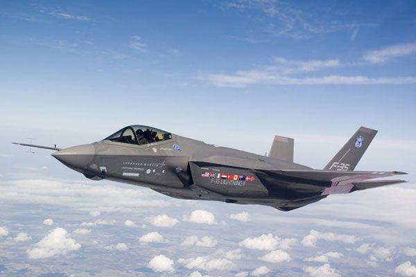 F35 Uçuşa Hazır