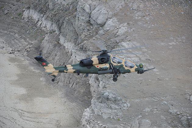 Milli helikopterler Güneydoğu'ya Gönderildi