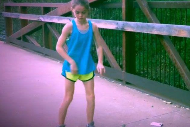 Küçük Kızın Dansı Büyüledi!