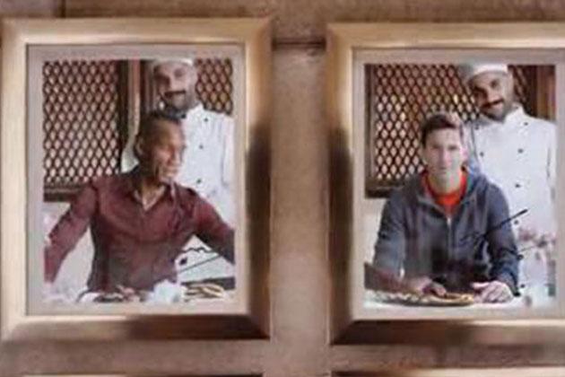 THY'nin Reklamında Drogba ve Messi Oynadı!