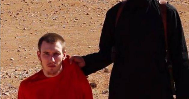 IŞİD ABD'li Gencin Kafasını Kesti