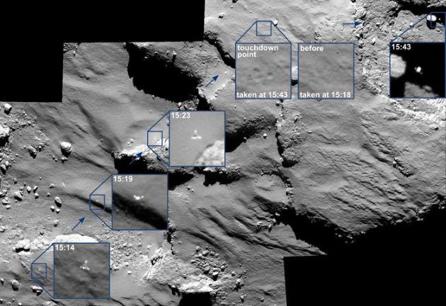 Rosetta'nın Uzay Robotu Philae Veri Göndermeye Devam Ediyor