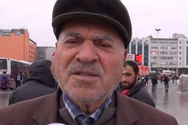 92 Yaşındaki Vatandaş Kadın Protestosuna Verdi