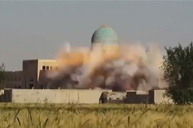 IŞİD Türbeleri Vurdu!