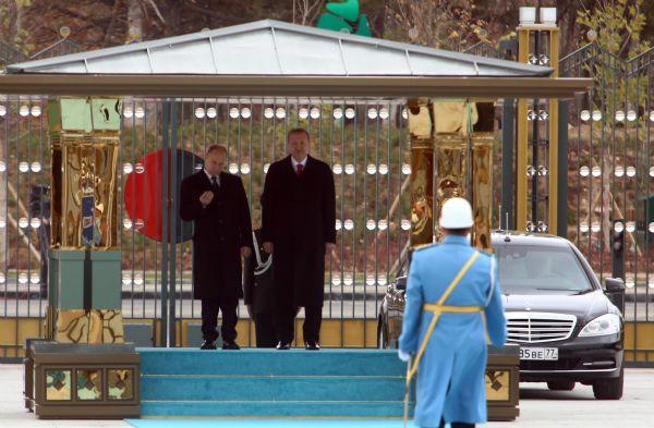 Putin Cumhurbaşkanlığı Sarayı'nda