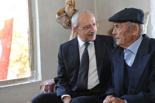 Kemal Kılıçdaroğlu 'Recep Amca'yı Ziyaret Etti