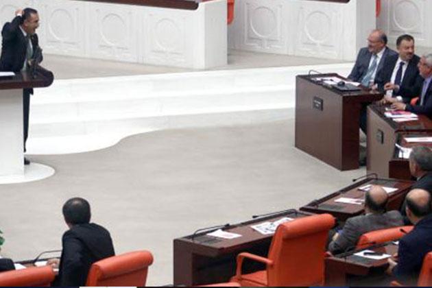 Meclis Genel Kurulu'nda 'Belam' Gerginliği