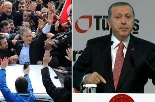 Erdoğan 'Kendi Aklınızı Kendinize Saklayın'