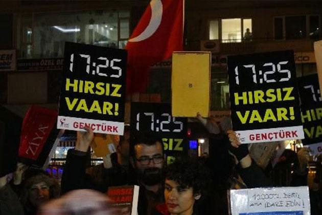 'Hırsız Erdoğan' Dedi Gözaltına Alındı!