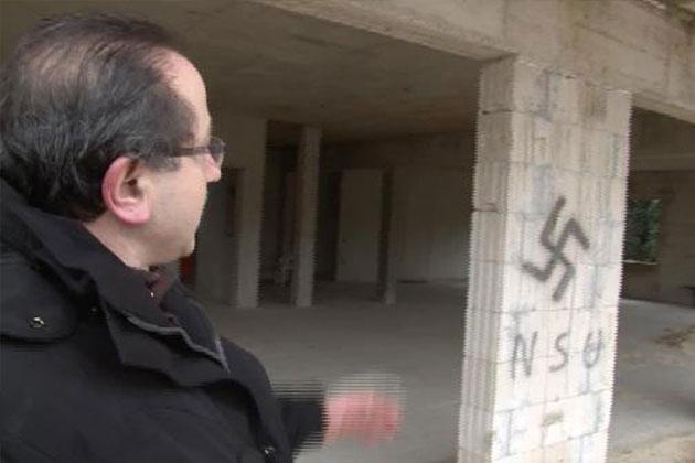 Almanya'da İnşaatı Süren Camiye 'Irkçı' Saldırı!