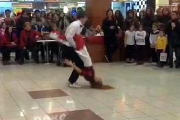 Edirne'de Alışveriş Merkezinde Kaza