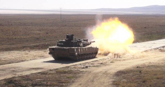 altay tankı  atış testi ile ilgili görsel sonucu
