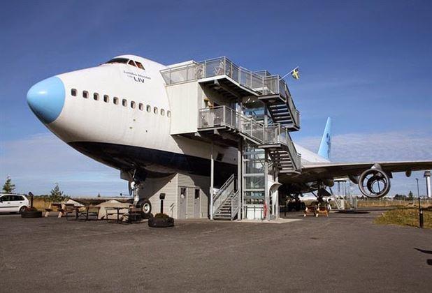 Jumbo Jet Uçak Hotel Havacılık Tutkunlarının Gözdesi Oldu