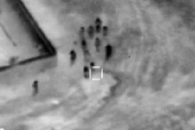 IŞİD Militanları Böyle Bombalandı
