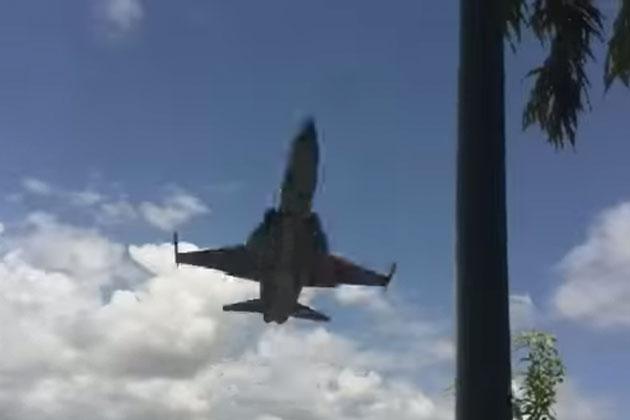 F-5E Tiger II'nin İnanılmaz Alçak Uçuşu