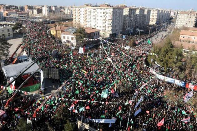 Diyarbakır'da Hz. Muhammed'e Saygı Mitingi!