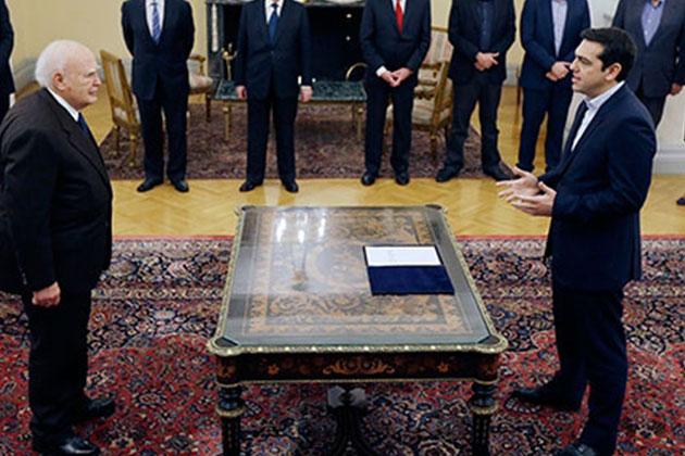 Yunanistan Başbakanı Dini Yemin Etmedi!