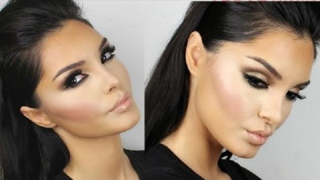 Kürt Kızı Evon'un Kim Kardashian Makyajı