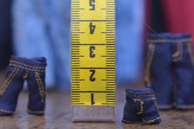1 Santimetrelik Kot Pantolon