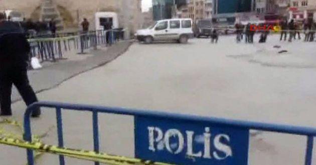 Taksim'de Silahlı Çatışma