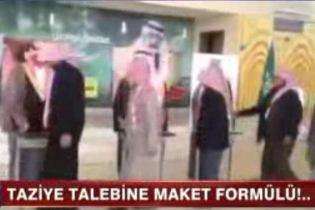 Suudi Arabistan'da İlginç Taziye Yöntemi!