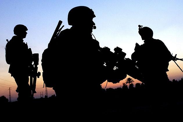Suriye Sınırındaki Askerler Teyakkuzda
