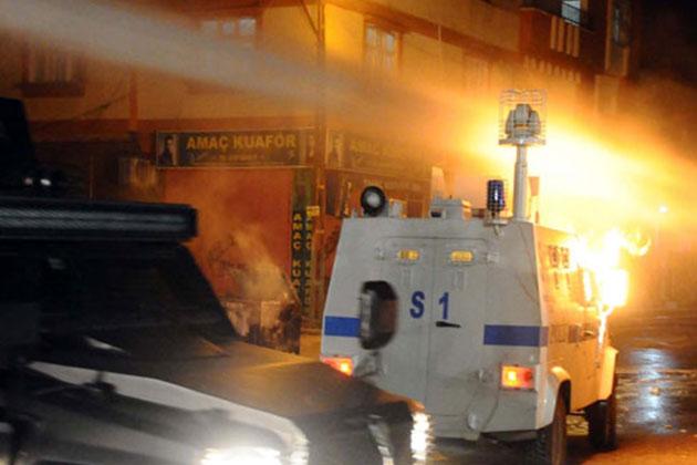 Gaziantep'te Olaylı Gece