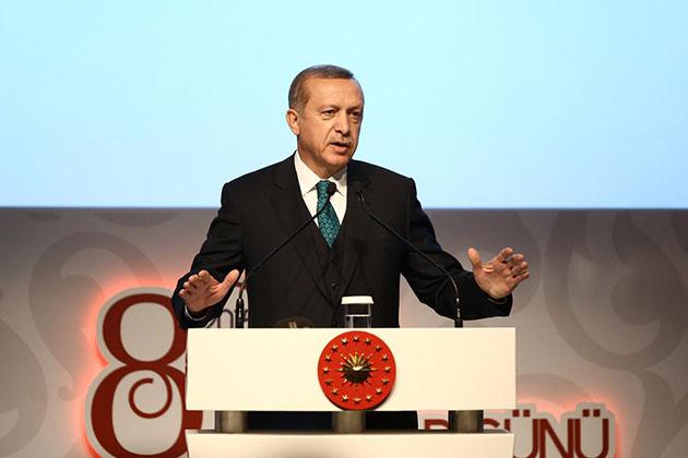 Cumhurbaşkanı Erdoğan Dünya Kadınlar Günü Buluşmasında Konuştu