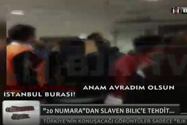 BJK TV Bilic ile Emre'nin Tartışmasını Yayınladı