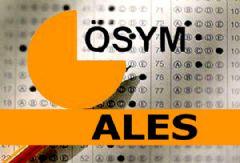 ÖSYM ALES sınav giriş yeri sorgulama-TC kimlik no ile ALES bilgisi