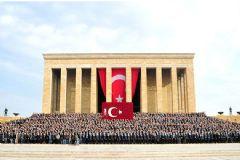 ASELSAN 4 bin 500 kişi ile Ata'nın Huzurunda