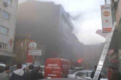 Ankara Halk Sağlığı Müdürlüğü'nde Yangın