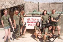 Dünya Ordularında Kadın Askerler