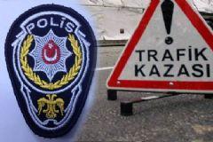 Polis Otobüsü Kaza Yaptı: 12 Polis Yaralı
