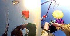 Ölüdeniz'de Paraşüt Ortadan Ayrıldı İZLE